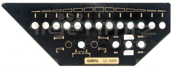 Agrifac | Bedienfeld ZA 3400