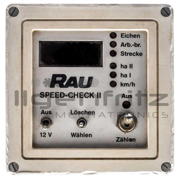 Rau   Speed Check II
