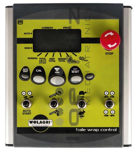 Wolagri   Bale Wrap Control