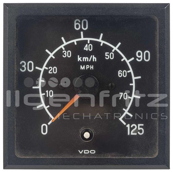 VDO   Geschwindigkeitsanzeige